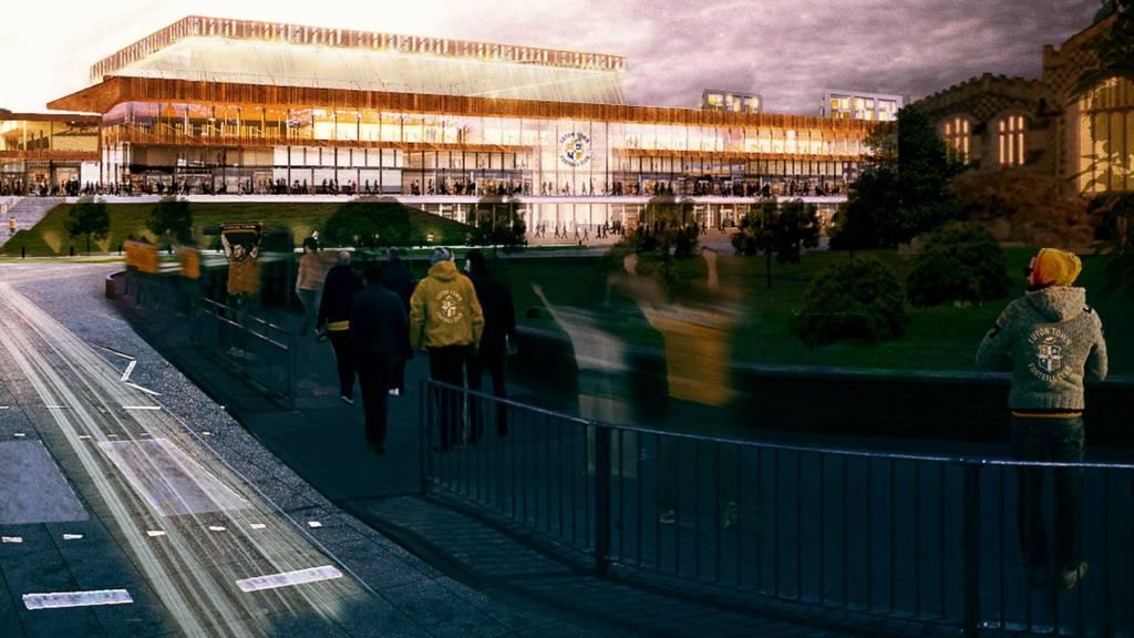 Luton Town stadium plan
