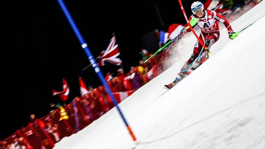 2016 Men's Night Slalom winner Henrik Kristoffersen of Norway