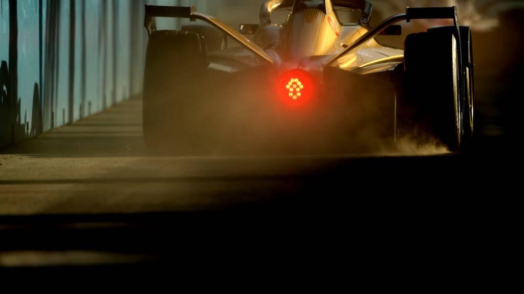 Rear of Formula E car