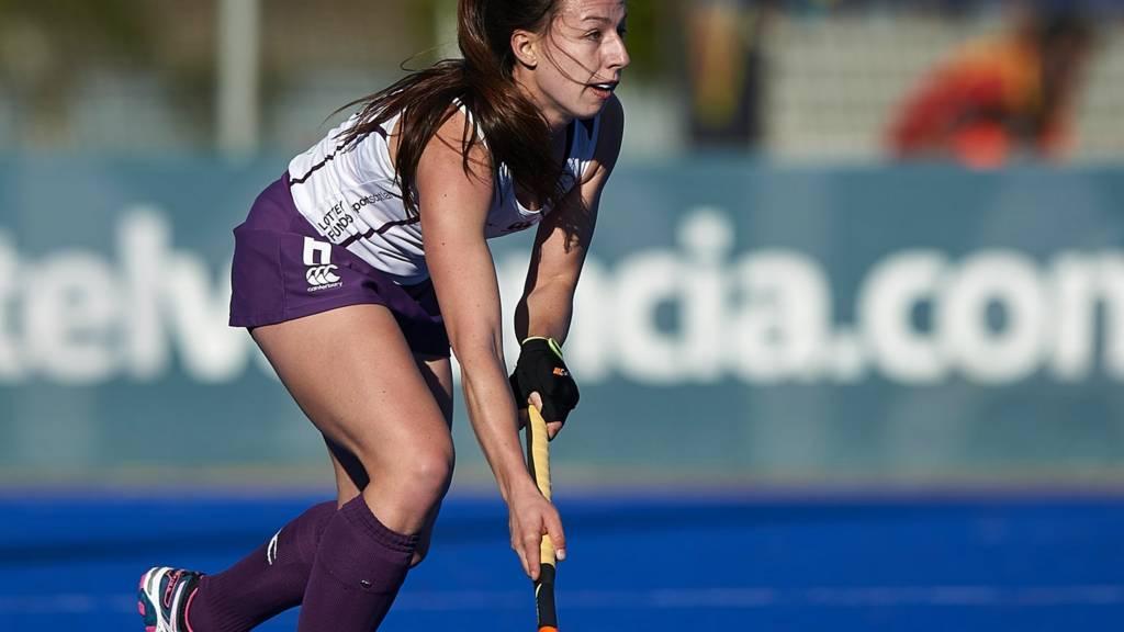 Scotland's Becky Ward