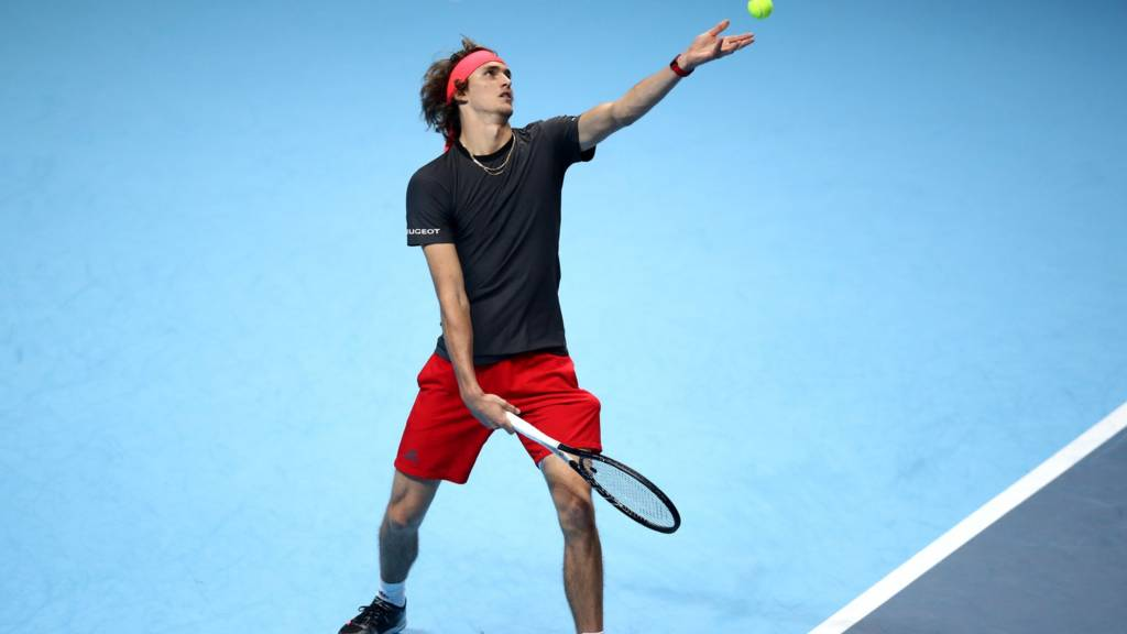 Zverev stuns Federer to reach ATP Finals title match