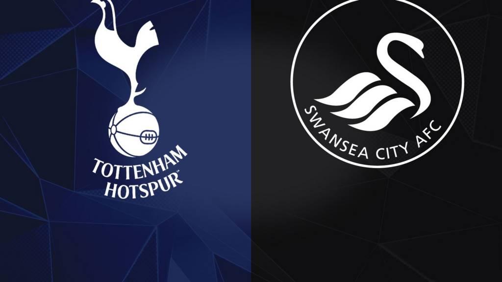 Tottenham and Swansea badges