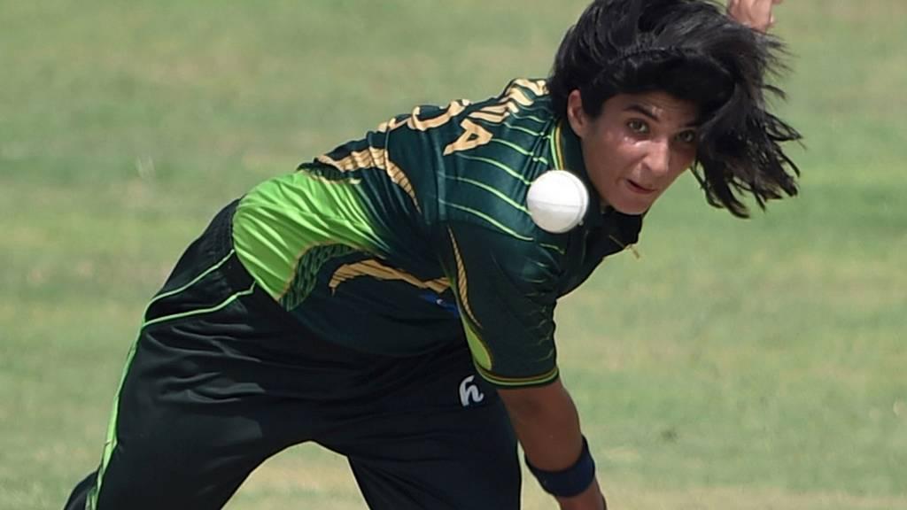 Pakistani bowler Sania Khan