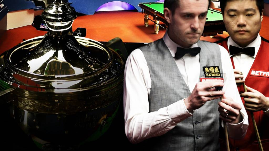 Mark Selby and Ding Junhui