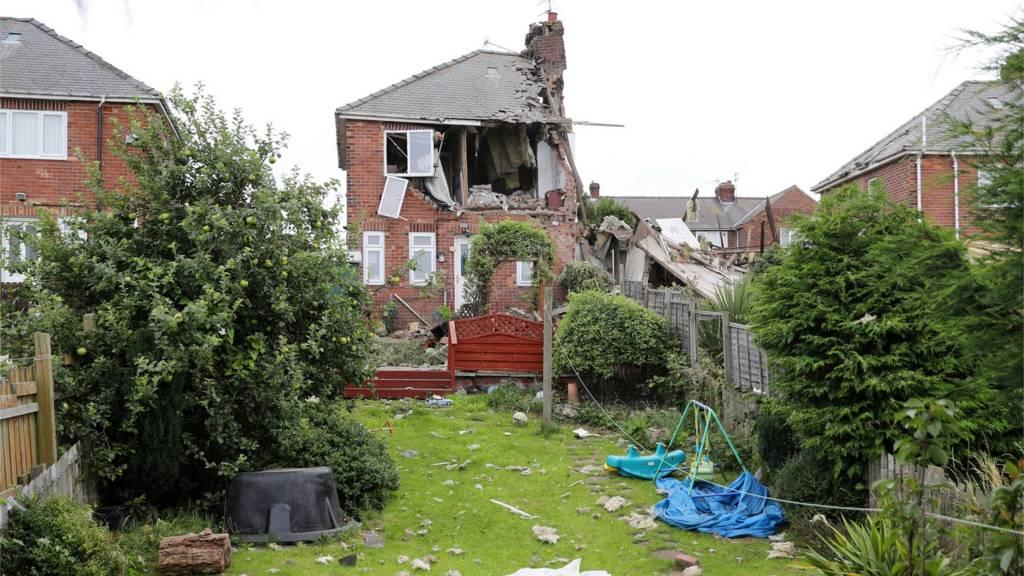 Explosion in Sunderland