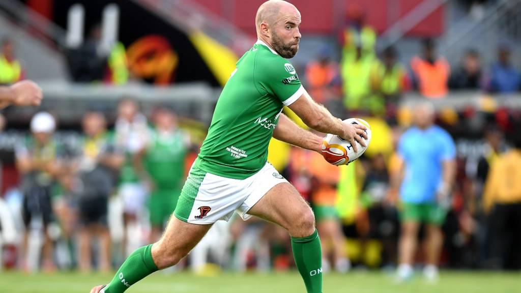 Liam Finn of Ireland