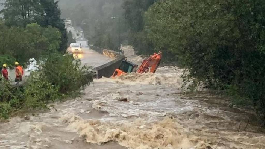 Laxey flooding