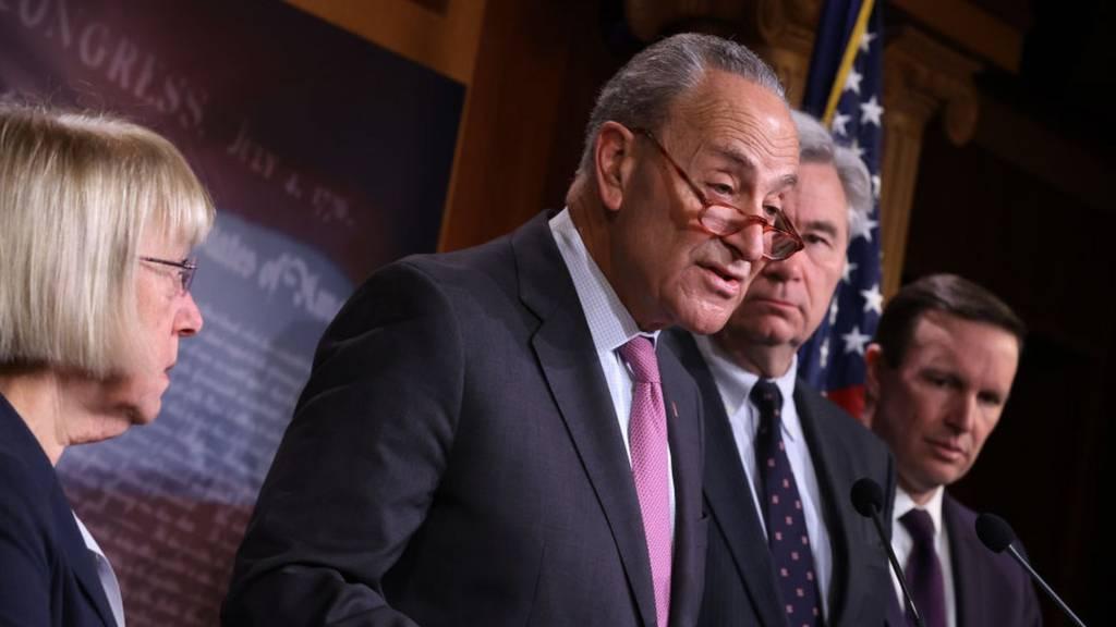 Schumer and Democrats