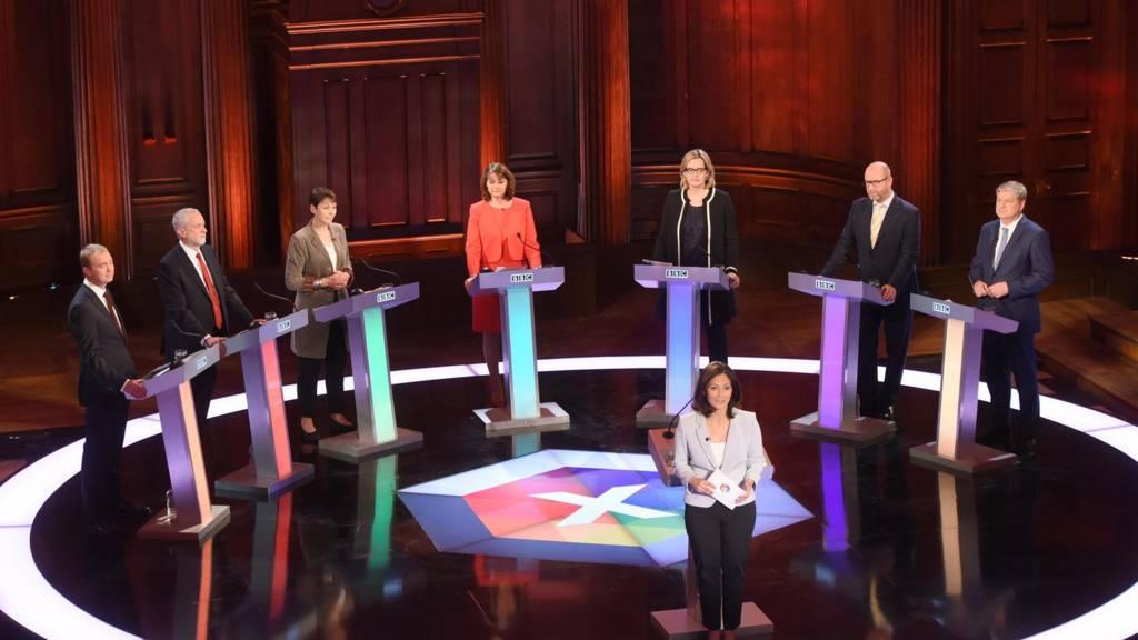 Leaders take part in election debate