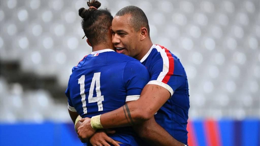 France celebrate win