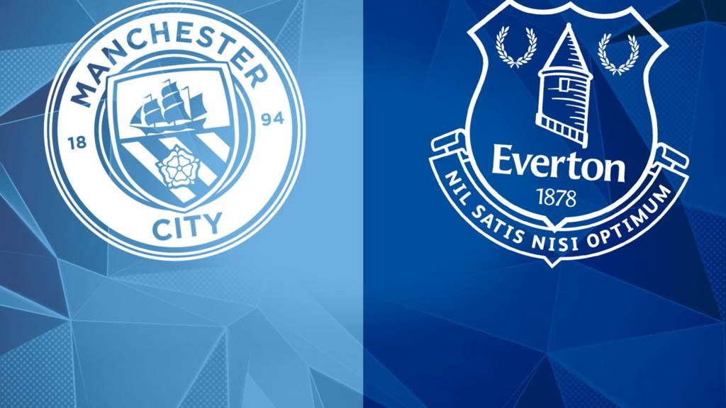 Image result for Everton vs Manchester City Live