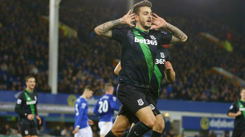 Joselu scores for Stoke