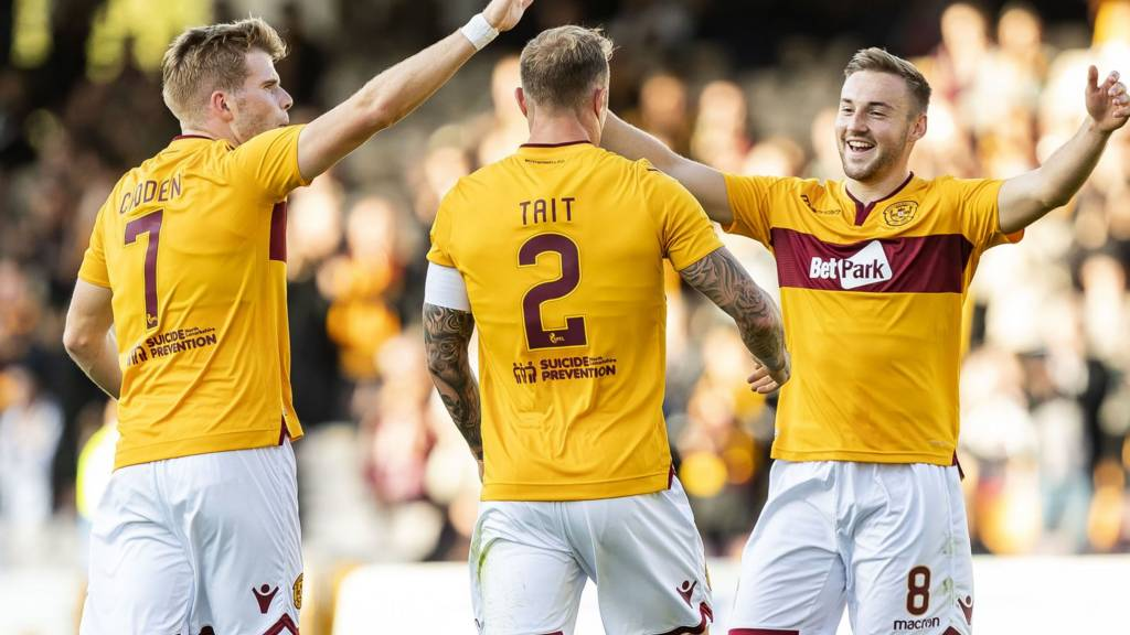 Motherwell are at home to Queen of the South