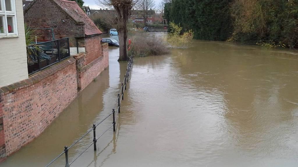Bridgnorth flooding