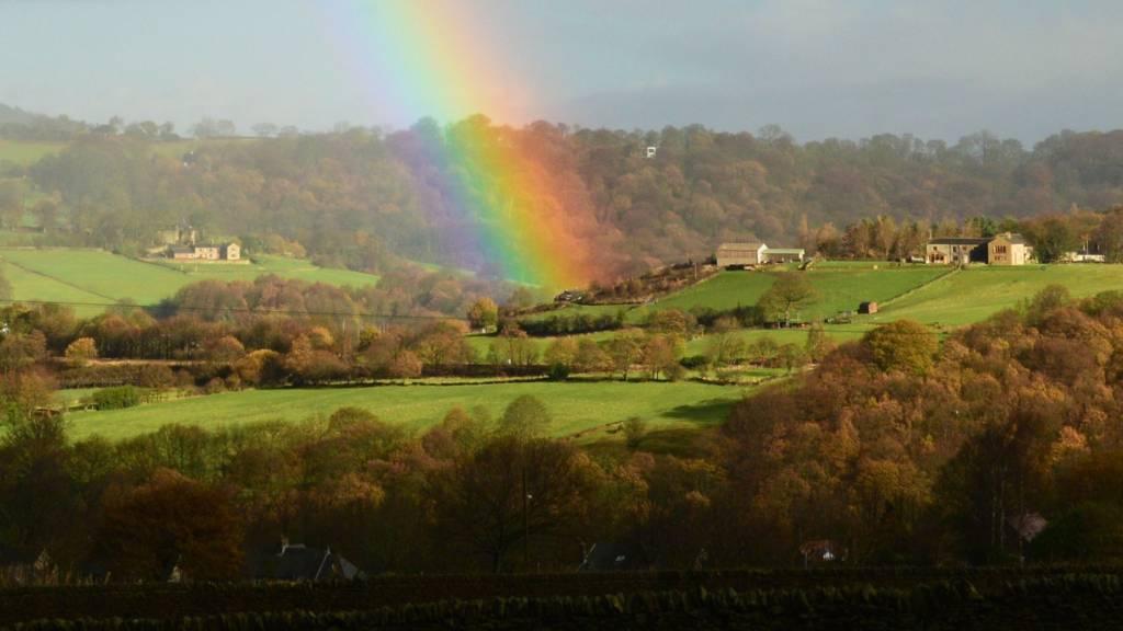 Rainbow over Honley