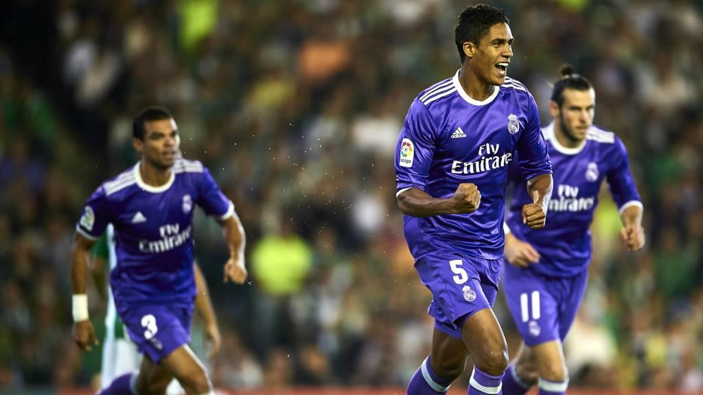 Real Madrid celebrate