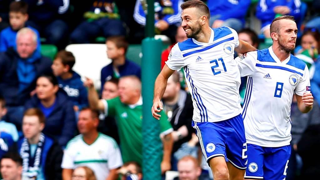 Bosnia celebrate