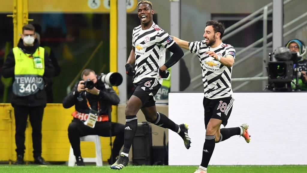 Paul Pogba scores