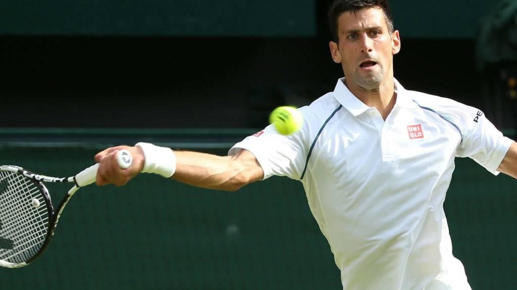 Novak Djokovic HERO