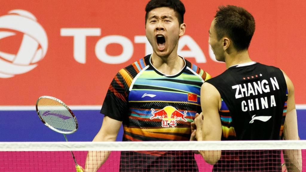 Liu Cheng and Zhang Nan of China