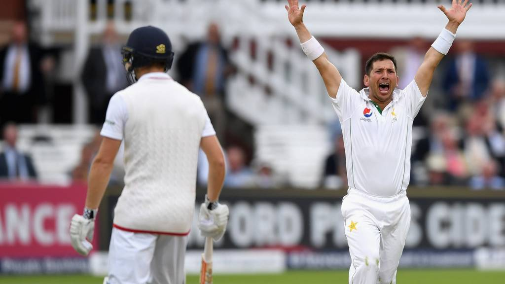 Yasir Shah appeals sucessfully