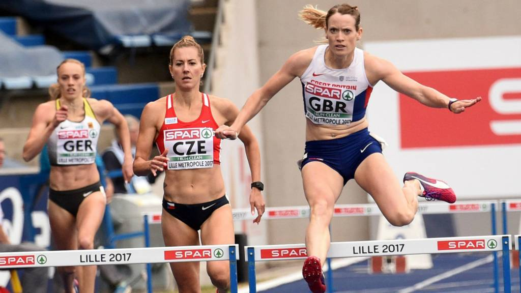 Eilidh Doyle of Great Britain