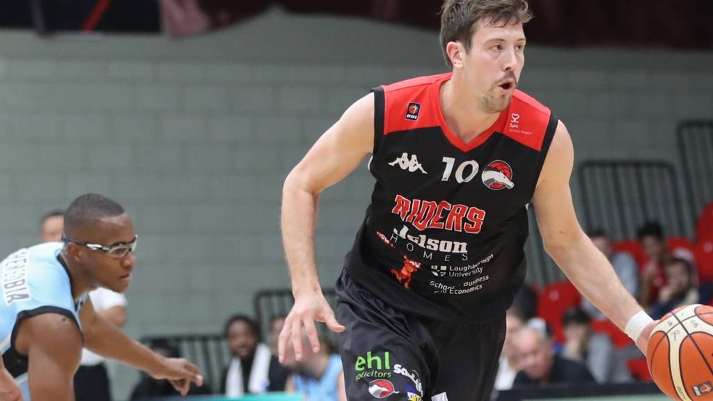 Leicester Riders' Andy Thomson