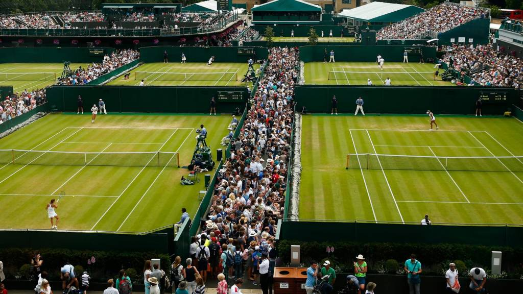 Wimbledon outer courts