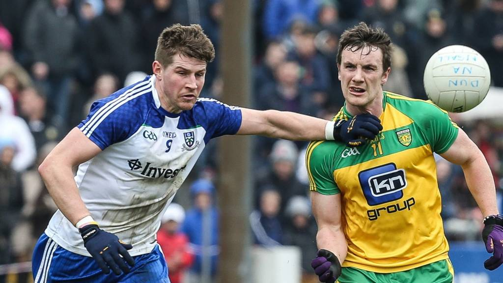 Action from Donegal against Monaghan