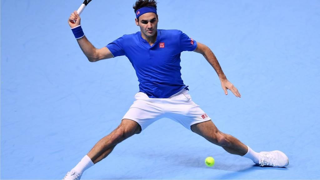 Roger Federer HERO for after 1st match