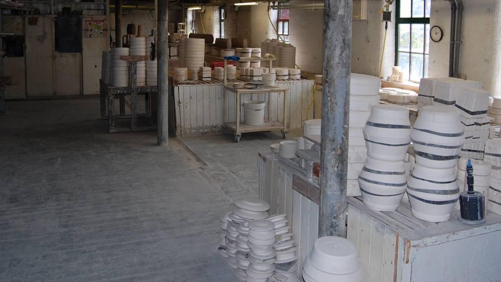 Pottery at Middleport Pottery