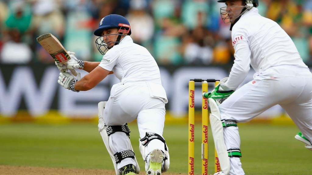 James Taylor of England in action