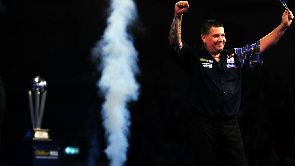 Gary Anderson wins