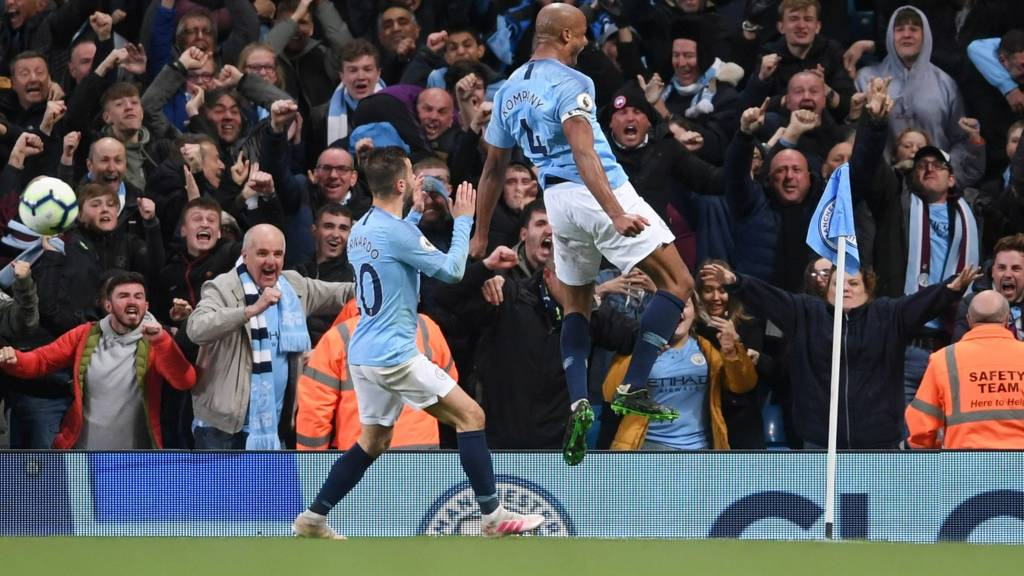 Manchester City V Leicester City In Premier League Live