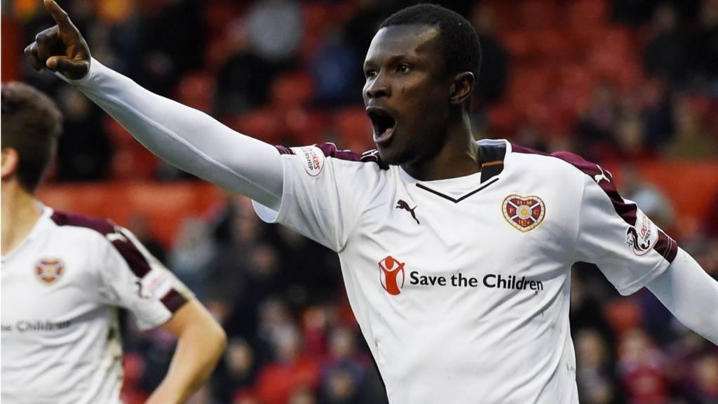 Aberdeen forward Abiola Dauda