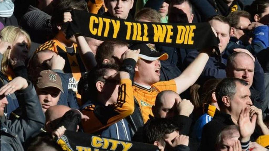 Hull supporters