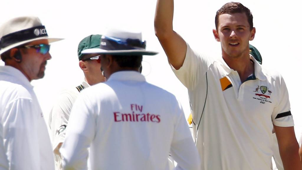 Australia's Josh Hazlewood