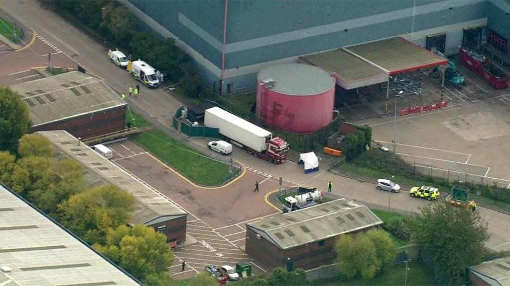 Aerial view of Waterglade Industrial Park