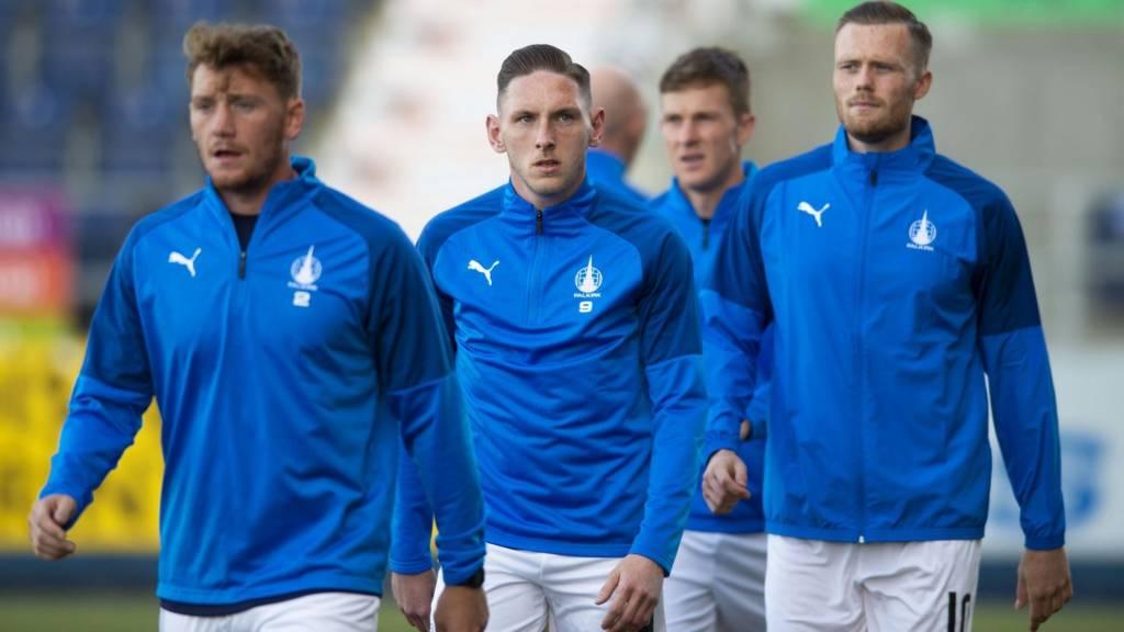 Falkirk players