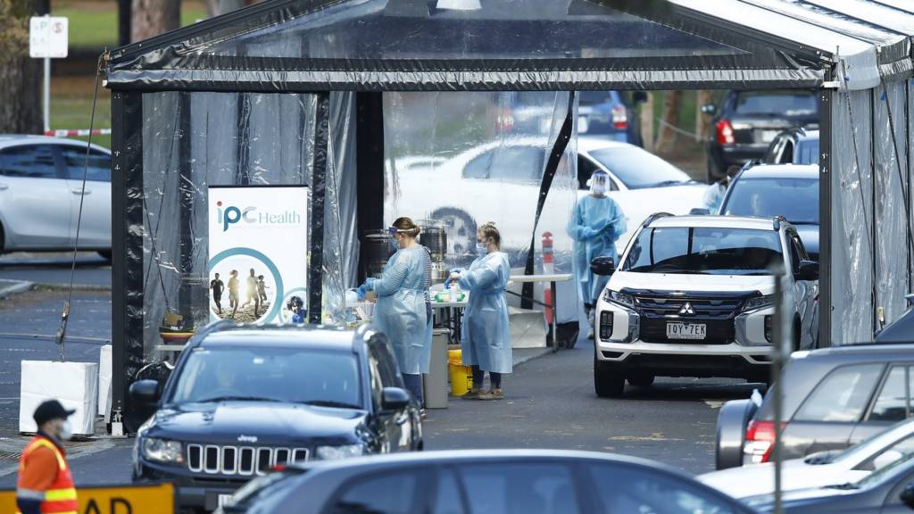 Australia records first COVID-19 death in month