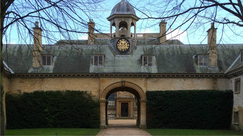 Belton House gates