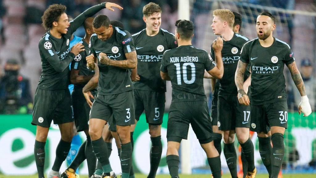 Image result for napoli 2-4 man city