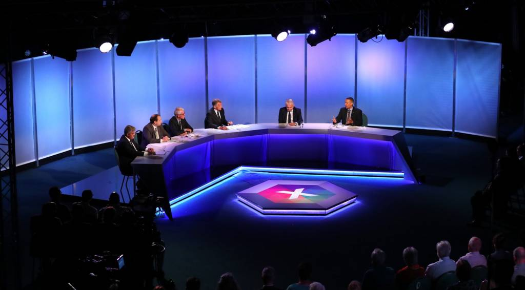 BBC East general election debate panel