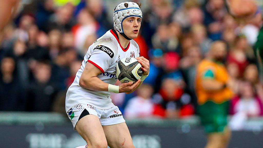 Micheal Lowry in action for Ulster