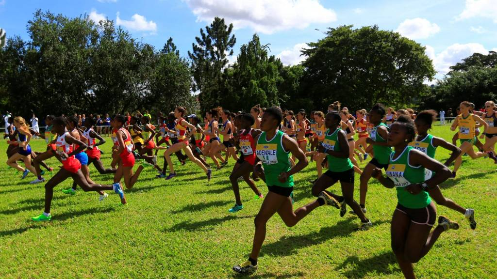 Women's cross-country race held in Uganda