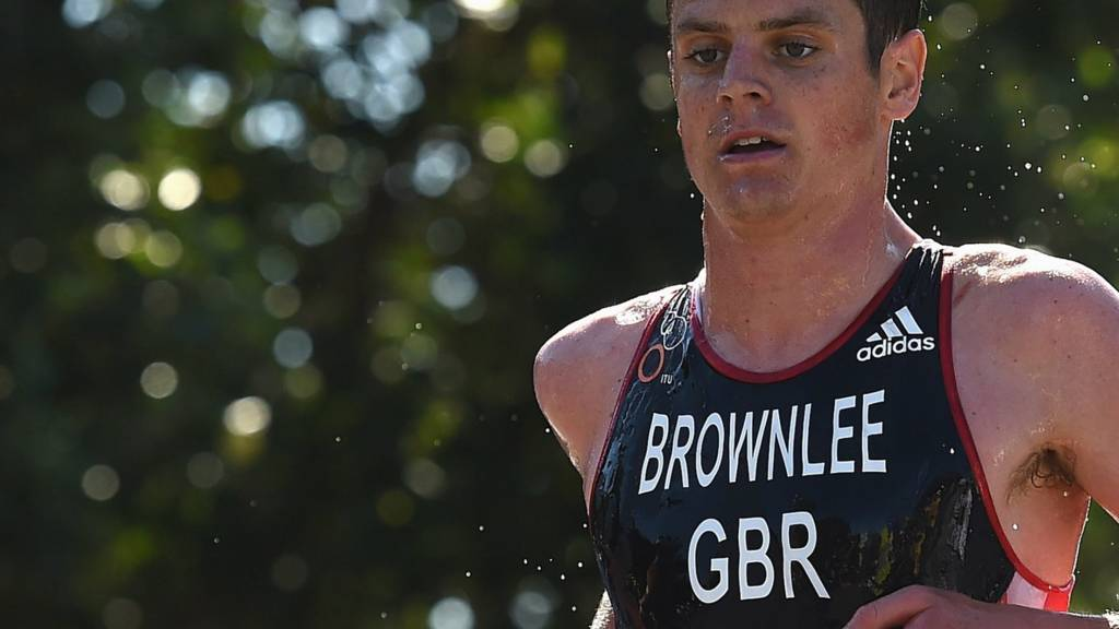 Jonathan Brownlee of Great Britain