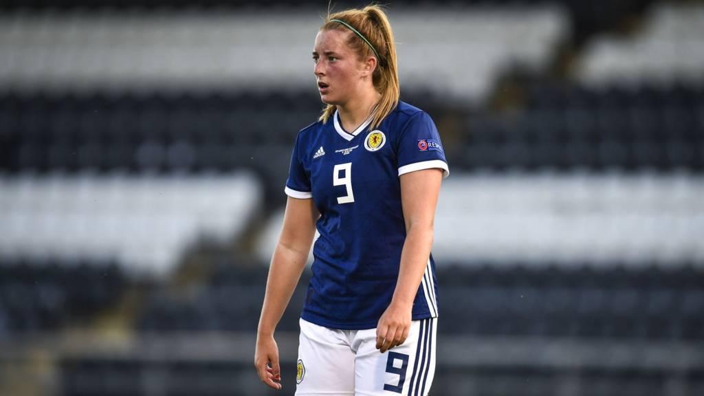 Scotland's Kathleen McGovern