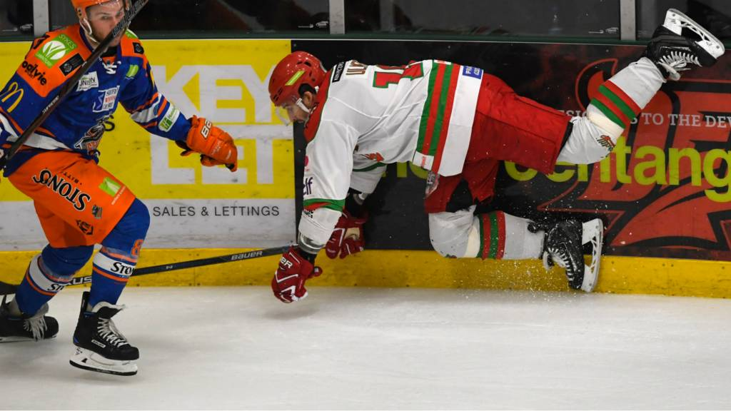 Guildford Flames' Geoff Walker