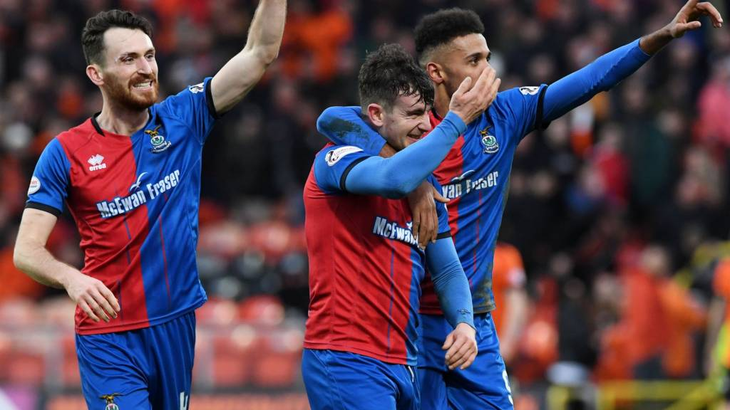 Inverness CT are into the last four in the Scottish Cup