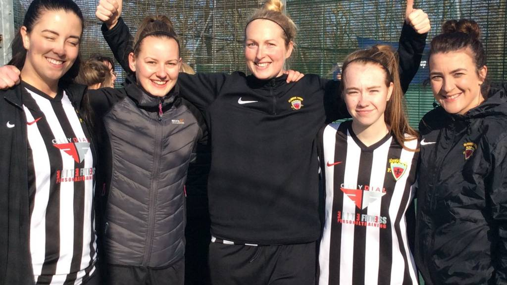 Alnwick Town Ladies at the FA People's Cup